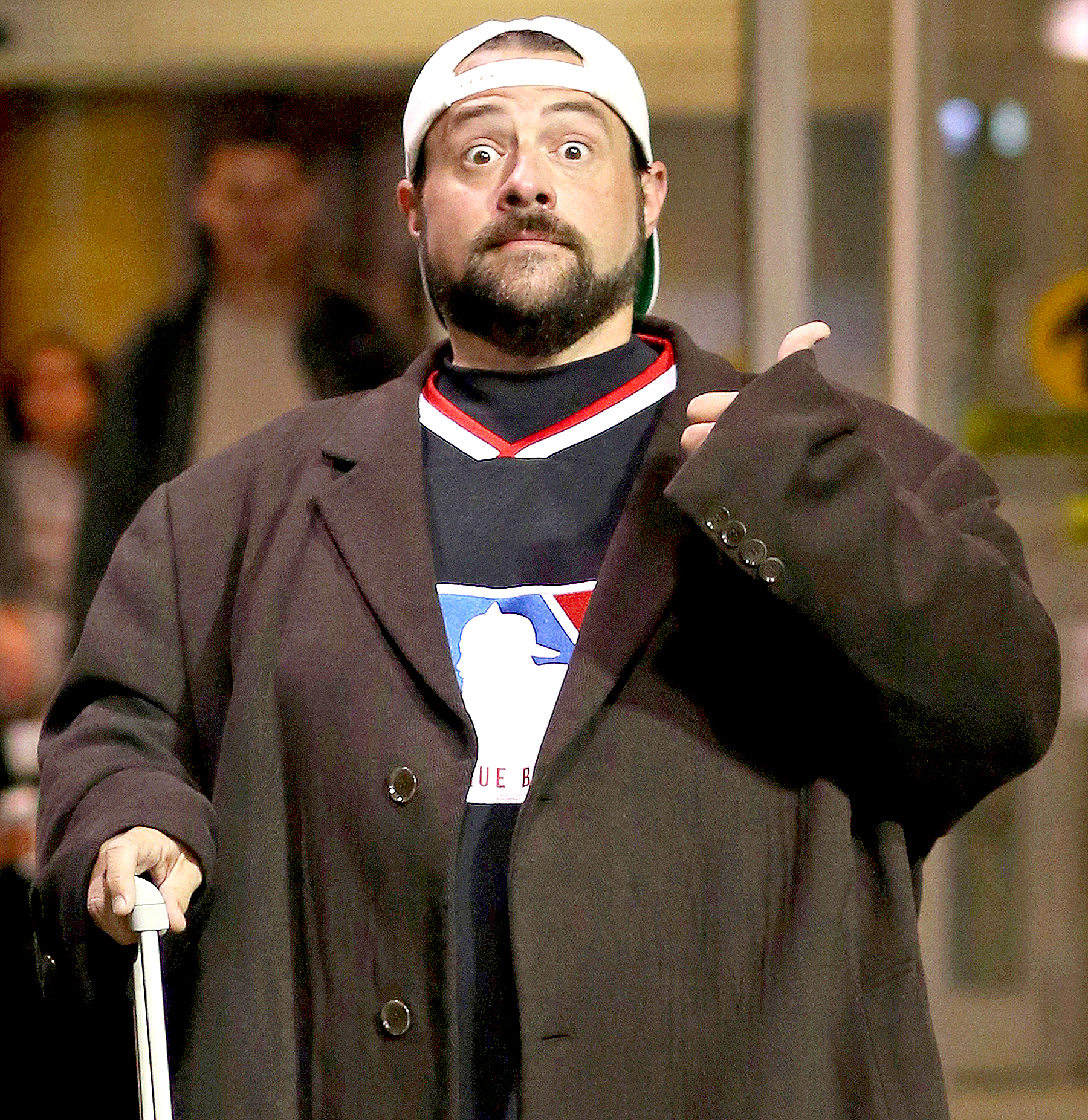 Kevin Smith Shows Off Weight Loss After Heart Attack Pics