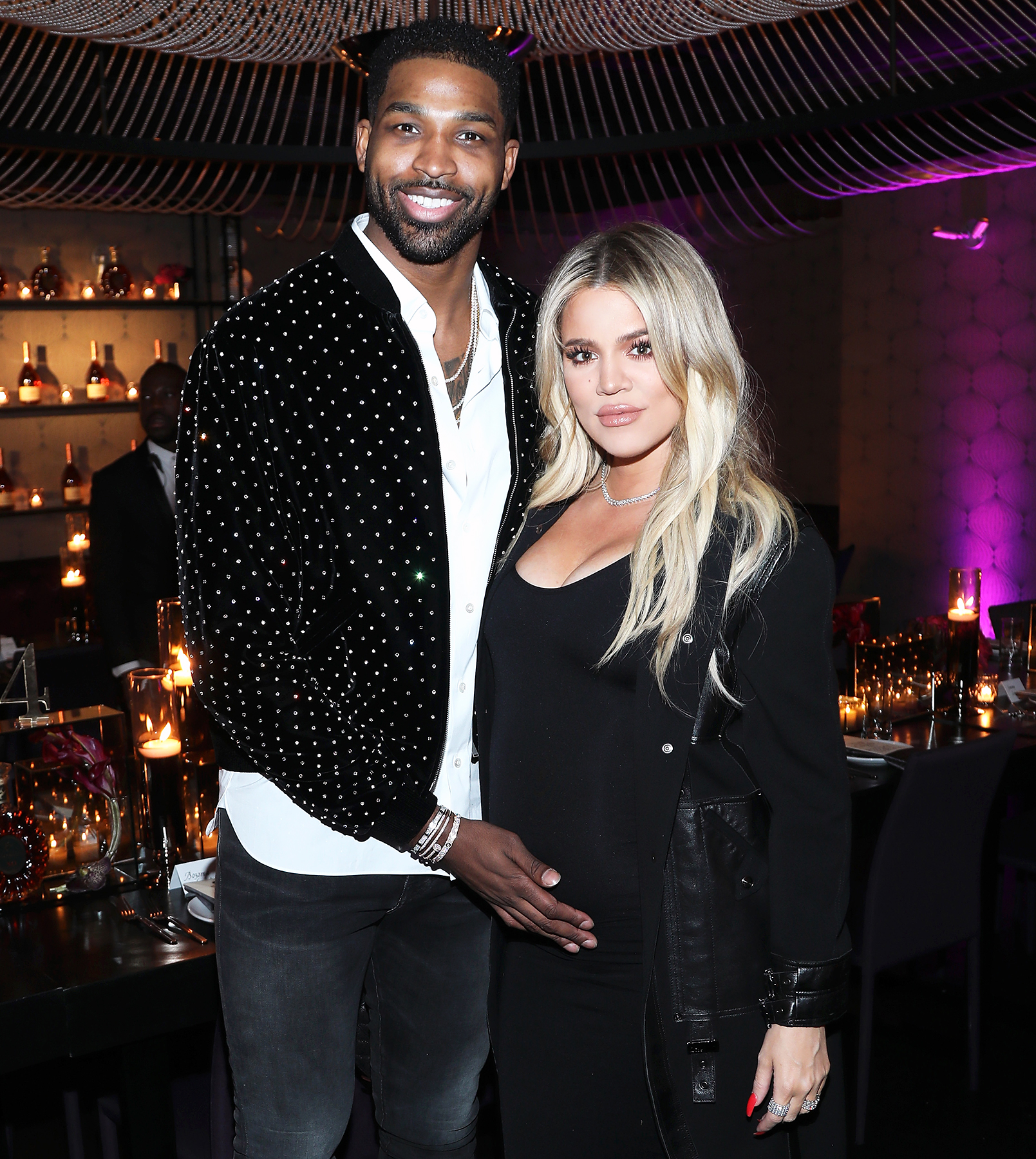 0ad59973f4392 Khloe Kardashian Says She and Tristan Thompson 'Are Ready Whenever' for  Birth of Their Baby Girl