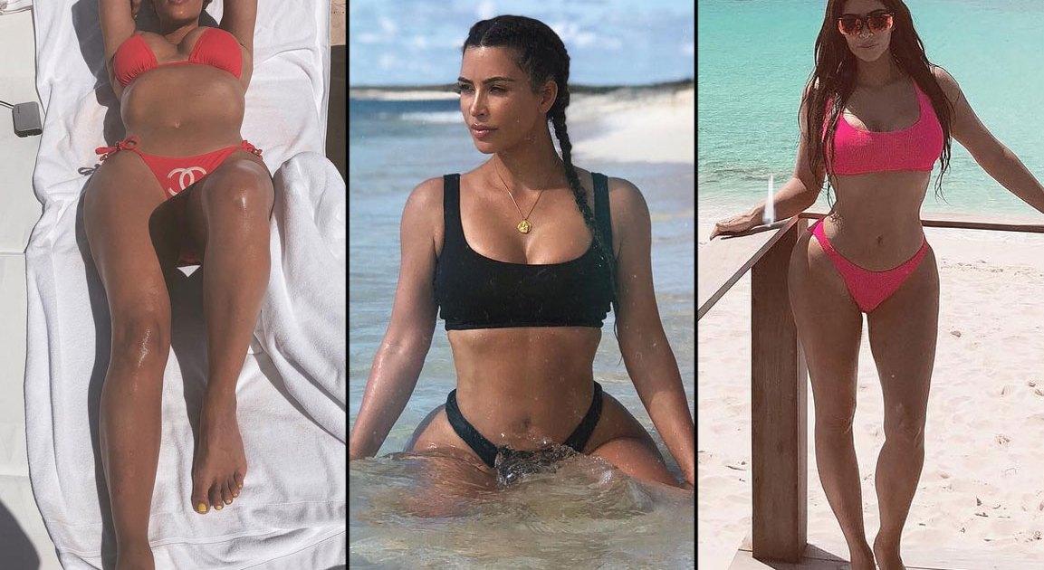 04d04421ed1cf Summer 2018 String, '90s Bikinis Inspired by Kim Kardashian