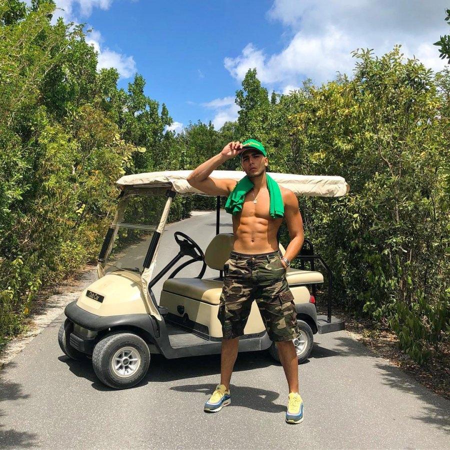Kourtney Kardashian, Younes Bendjima, Vacation, Turks and Caicos