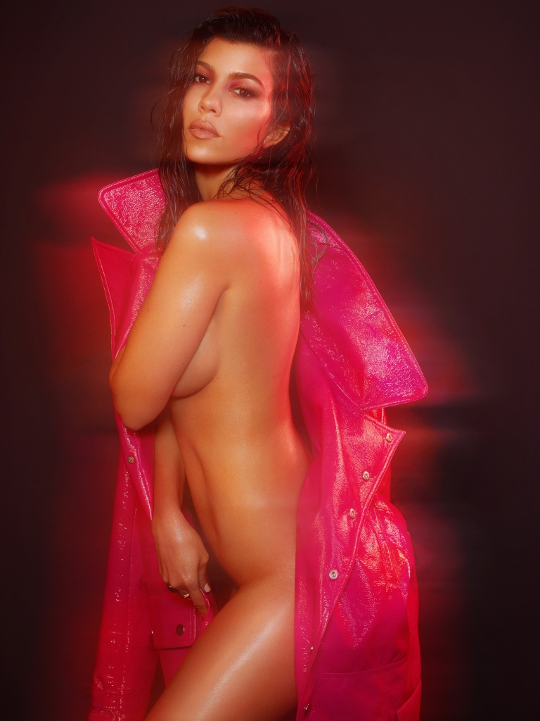 Today's Must-See: Kourtney Kardashian Nude for 'V'