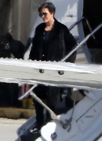 Kris Jenner returns from Cleveland