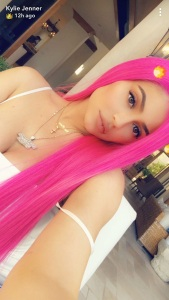 Kylie Jenner, Stormi, Coachella, Pink Hair, Cool Mom