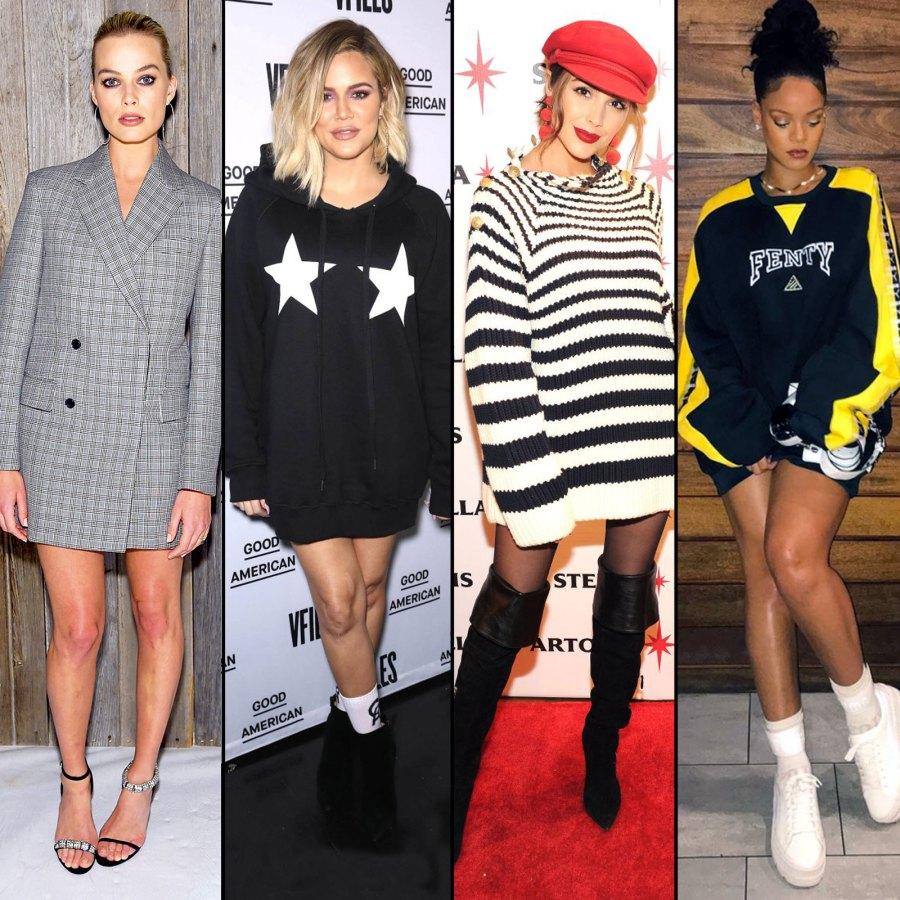 margot robbie, khloe Kardashian, Olivia culpo, rihanna