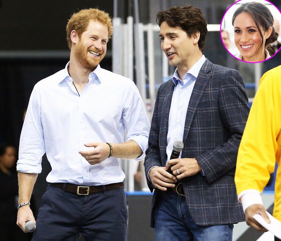 Meghan Markle's Inner Circle Justin Trudeau