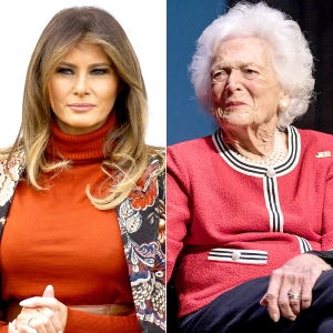 Melania Trump Will Attend Former First Lady Barbara Bush's Funeral
