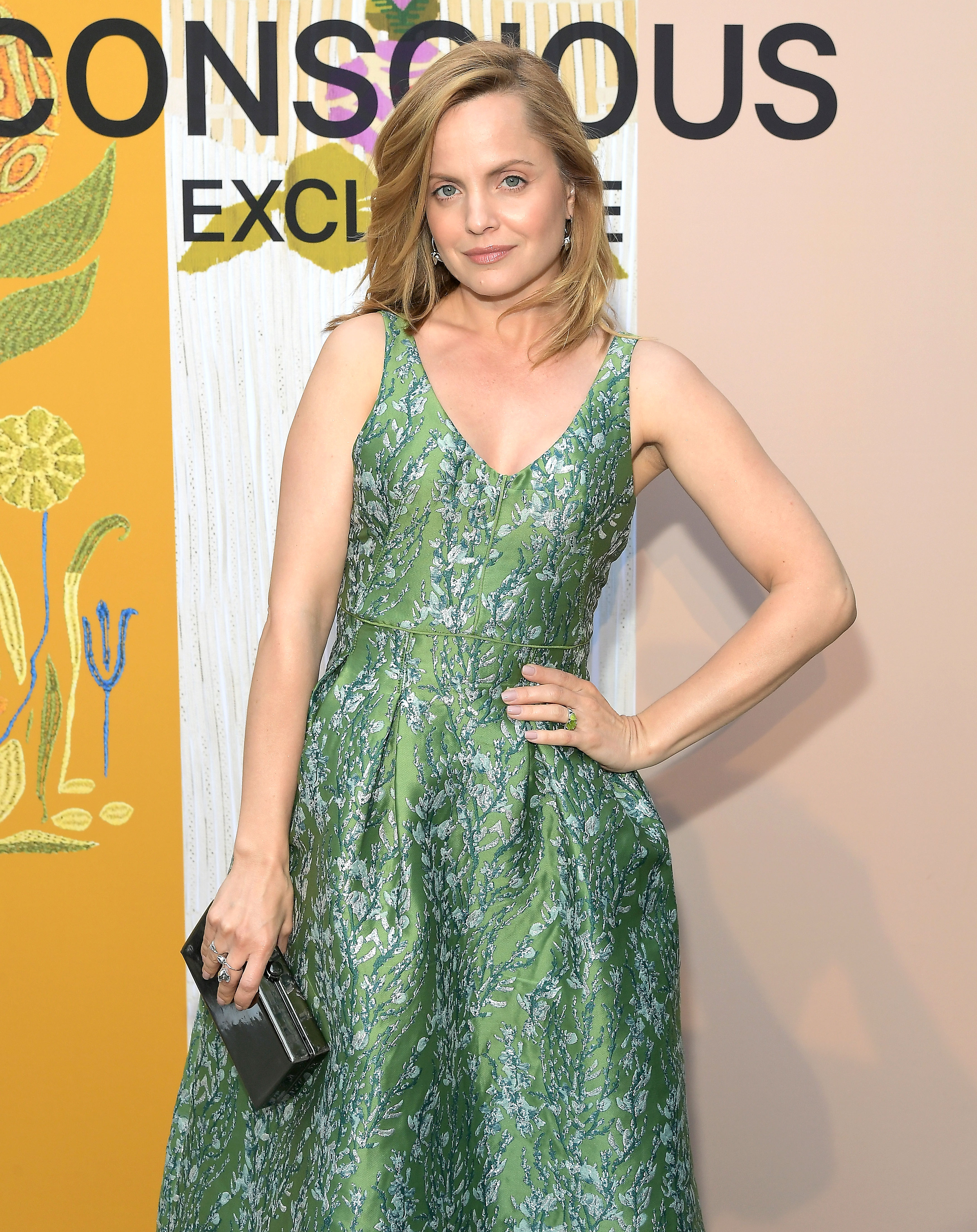Mena Suvari - attends the H&M celebration of 2018 Conscious Exclusive collection at John Lautner's Harvey House on April 5, 2018 in Los Angeles, California.