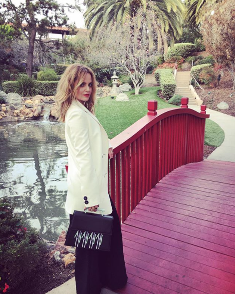 """Mena Suvari - """"I've been vegan for almost 10 months now and I went completely cruelty-free in my life even with my beauty products and my whole wardrobe,"""" she says. """"I feel really good making the personal changes that I did and I've always loved fashion, so I wanted to make it a point, for whatever it's worth, and show people that you can have fun with sustainable fashion and that it's possible,"""" the 39-year-old actress explains."""