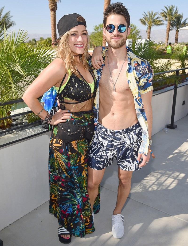 Mia Swier, Darren Criss, Coachella