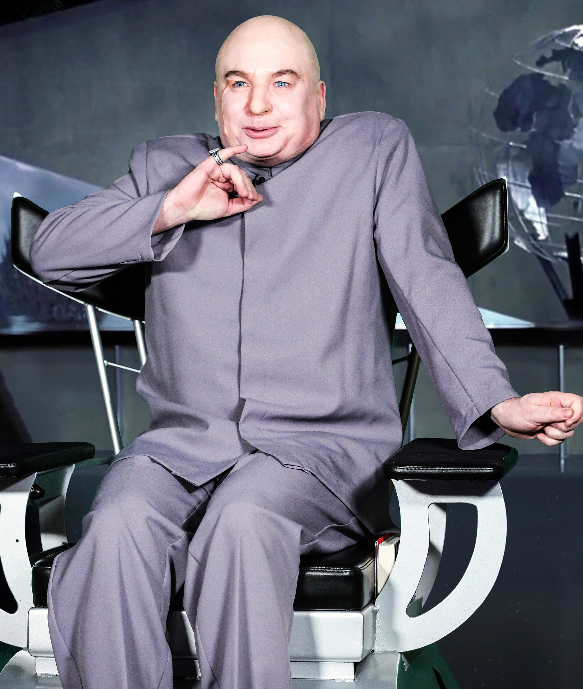 Mike Myers Dr. Evil The Tonight Show Starring Jimmy Fallon