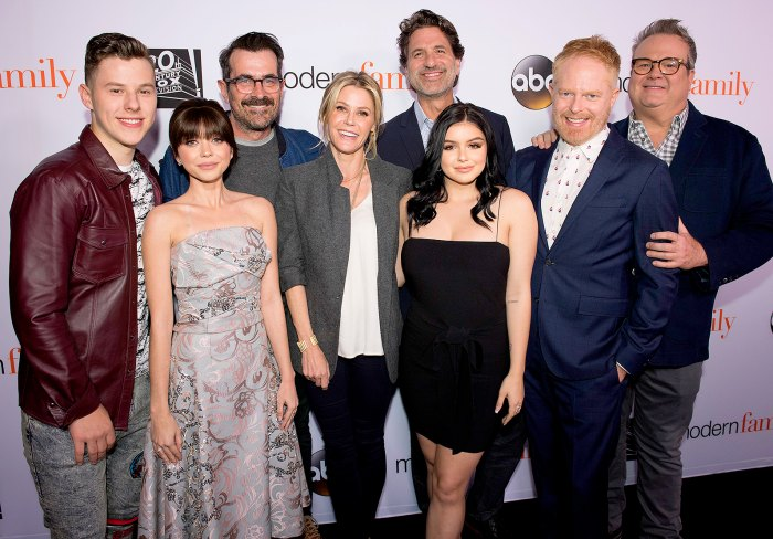 Julie Bowen steals the show as she makes glittering