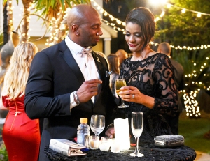 Barry Smith and Tamica Lee in 'Southern Charm New Orleans'