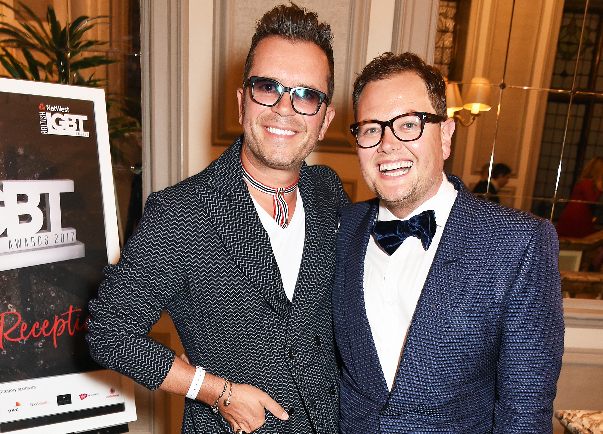 Paul Drayton Alan Carr - Paul Drayton and Alan Carr attend the British LGBT Awards at The Grand Connaught Rooms on May 12, 2017 in London, England.