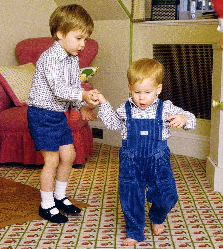 Royal Brothers Prince William Prince Harry Cutest Moments Through the Years