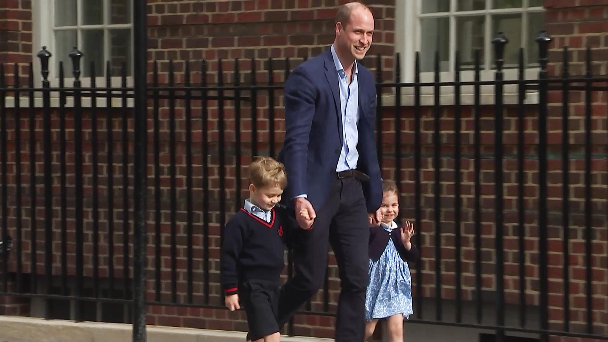Prince William George Charlotte hospital