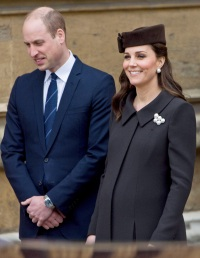 Prince William, Kate Middleton, Easter Service, St George's Chapel