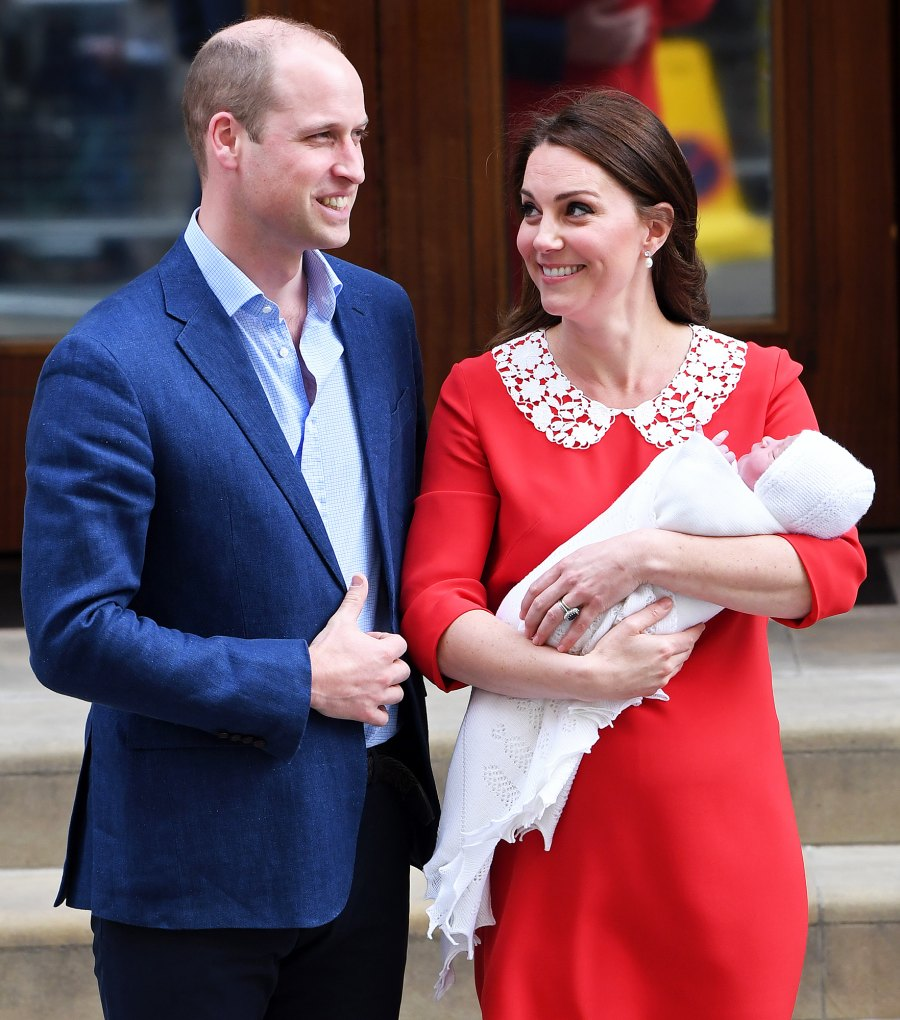 Prince William Duchess Kate new baby