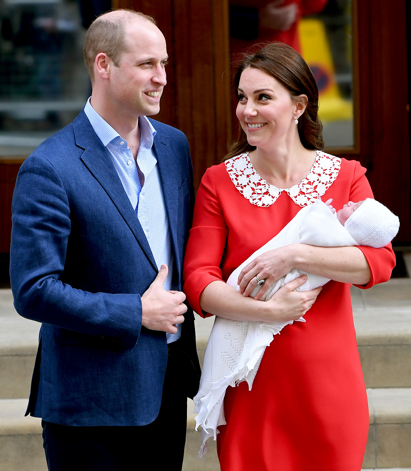 Prince william and kate new sons name