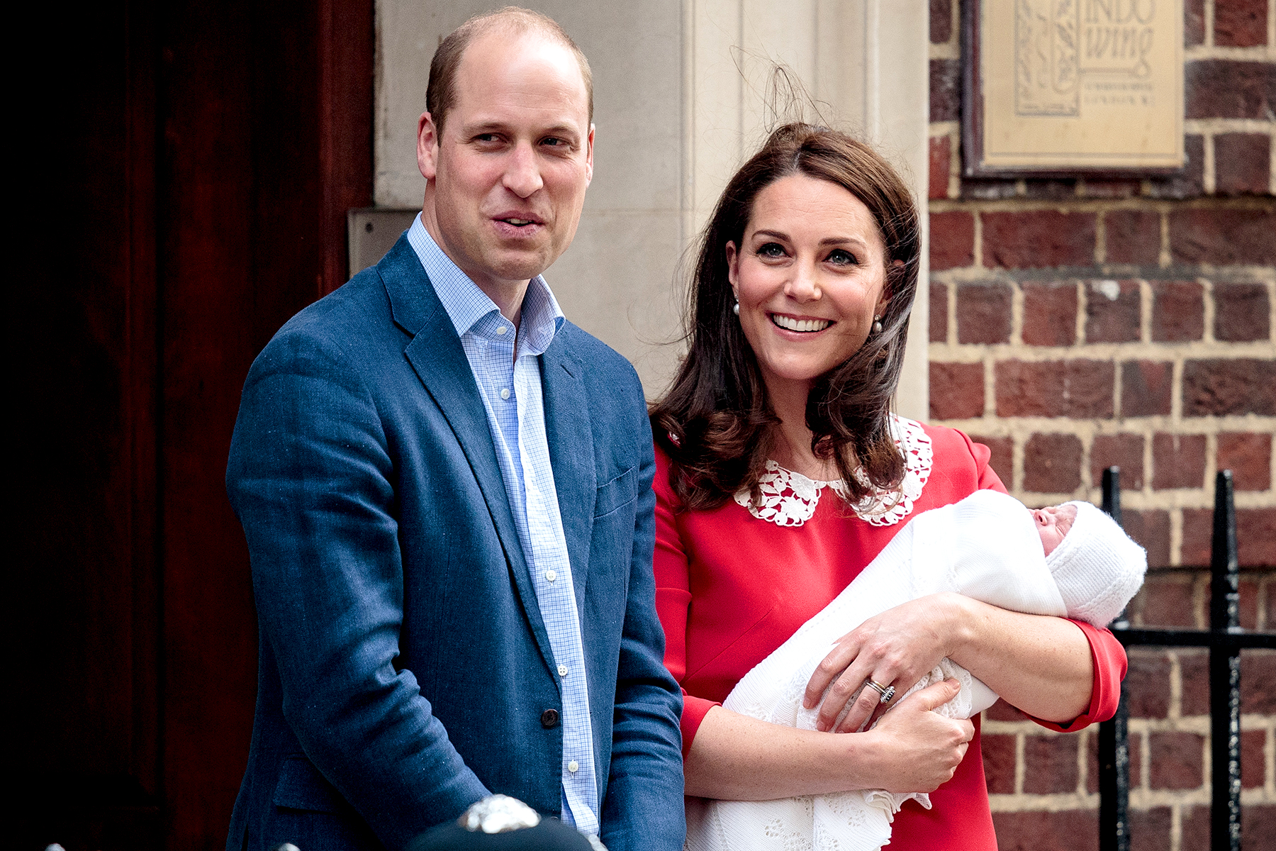 Prince Louis Arthur Charles' birth officially registered