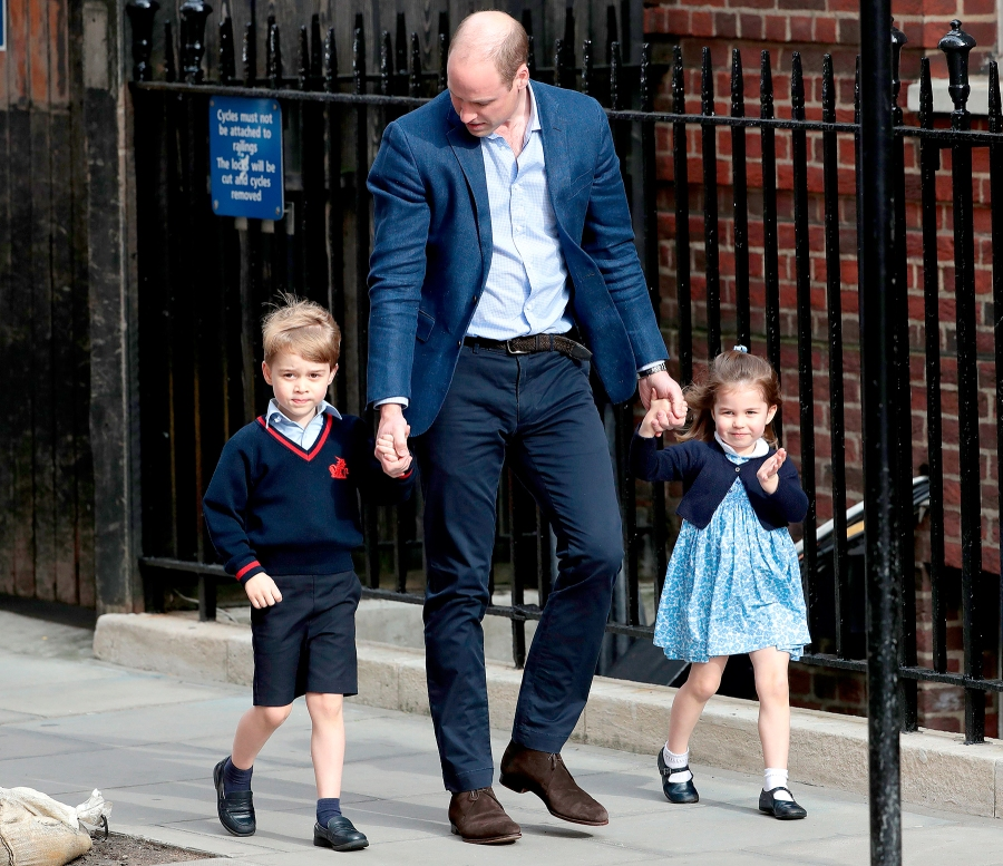 princess-charlotte-prince-george-william-arrive-at-hospital