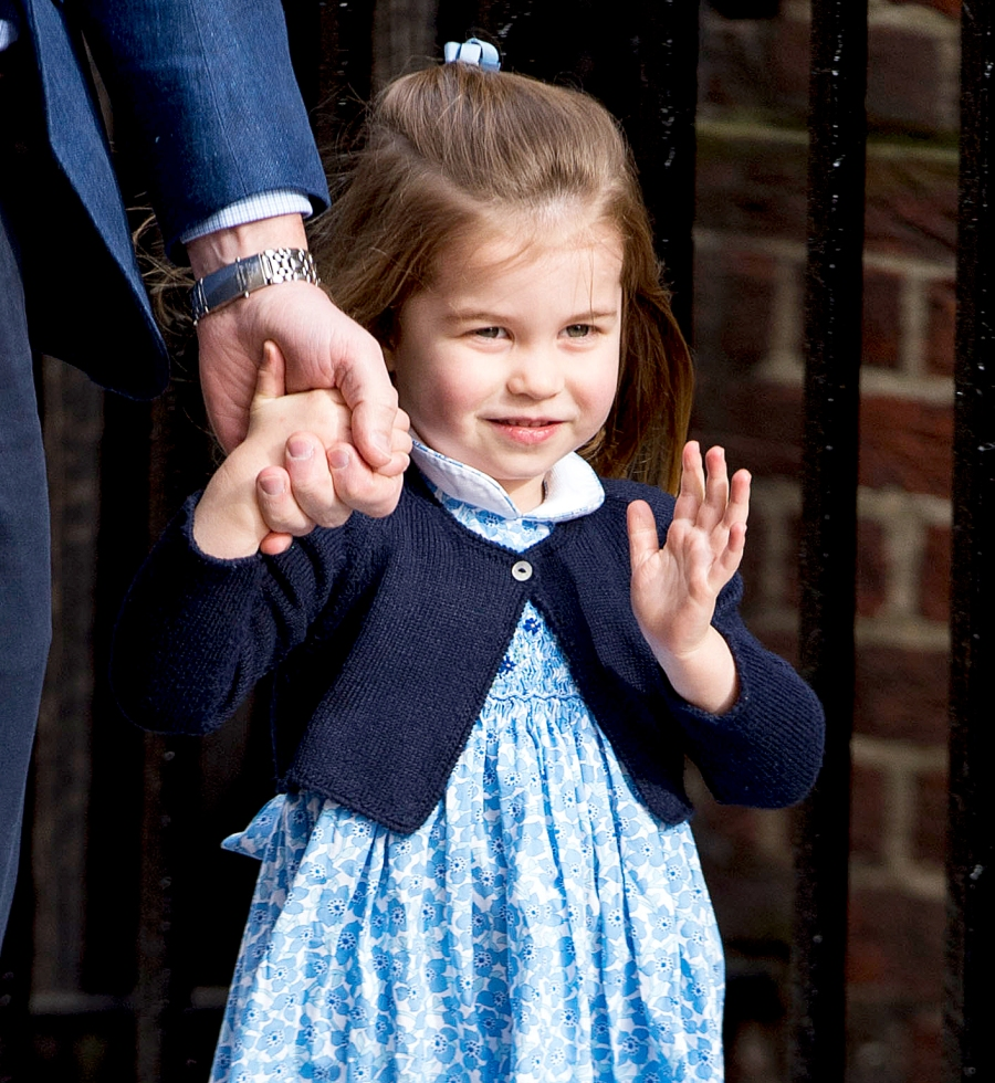 Daily Cute: Prince George and Princess Charlotte Look Darling to Meet Their Baby Brother