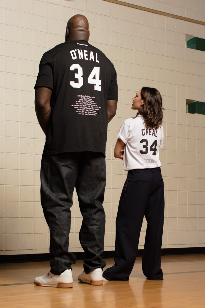 3f1920fd00 Victoria Beckham and Shaquille O'Neal Reebok Campaign: Pics