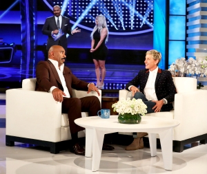 Steve Harvey makes an appearance on 'The Ellen DeGeneres Show'