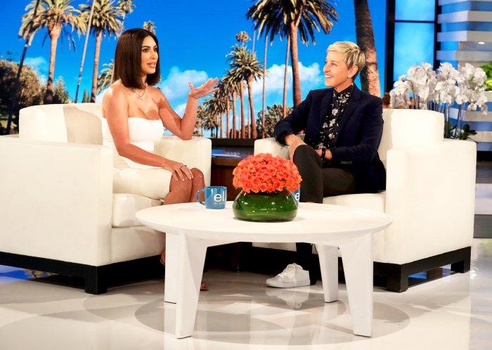 Kim Kardashian visits 'The Ellen DeGeneres Show'