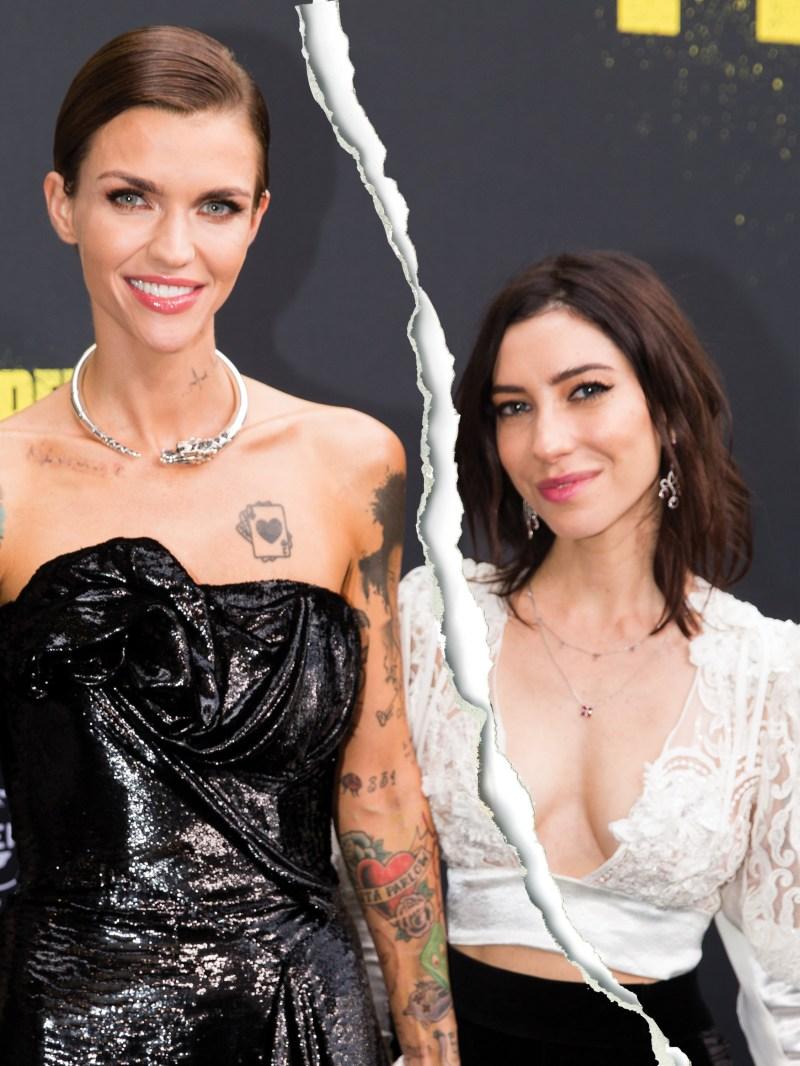 Celebrity Splits of 2018 ruby rose and jess origliasso