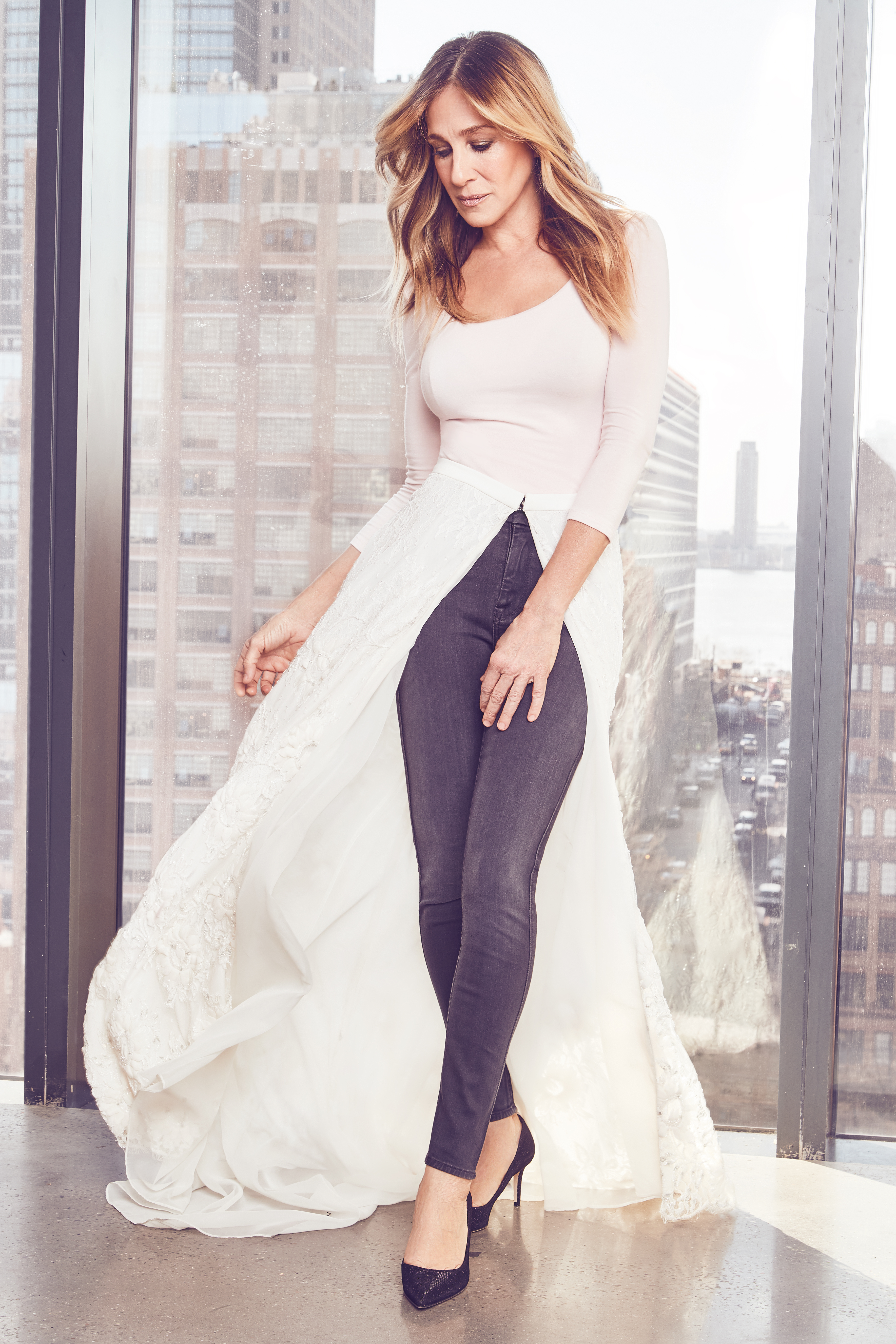 Sjp By Sarah Jessica Parker X Gilt Bridal Dresses Shoes Details