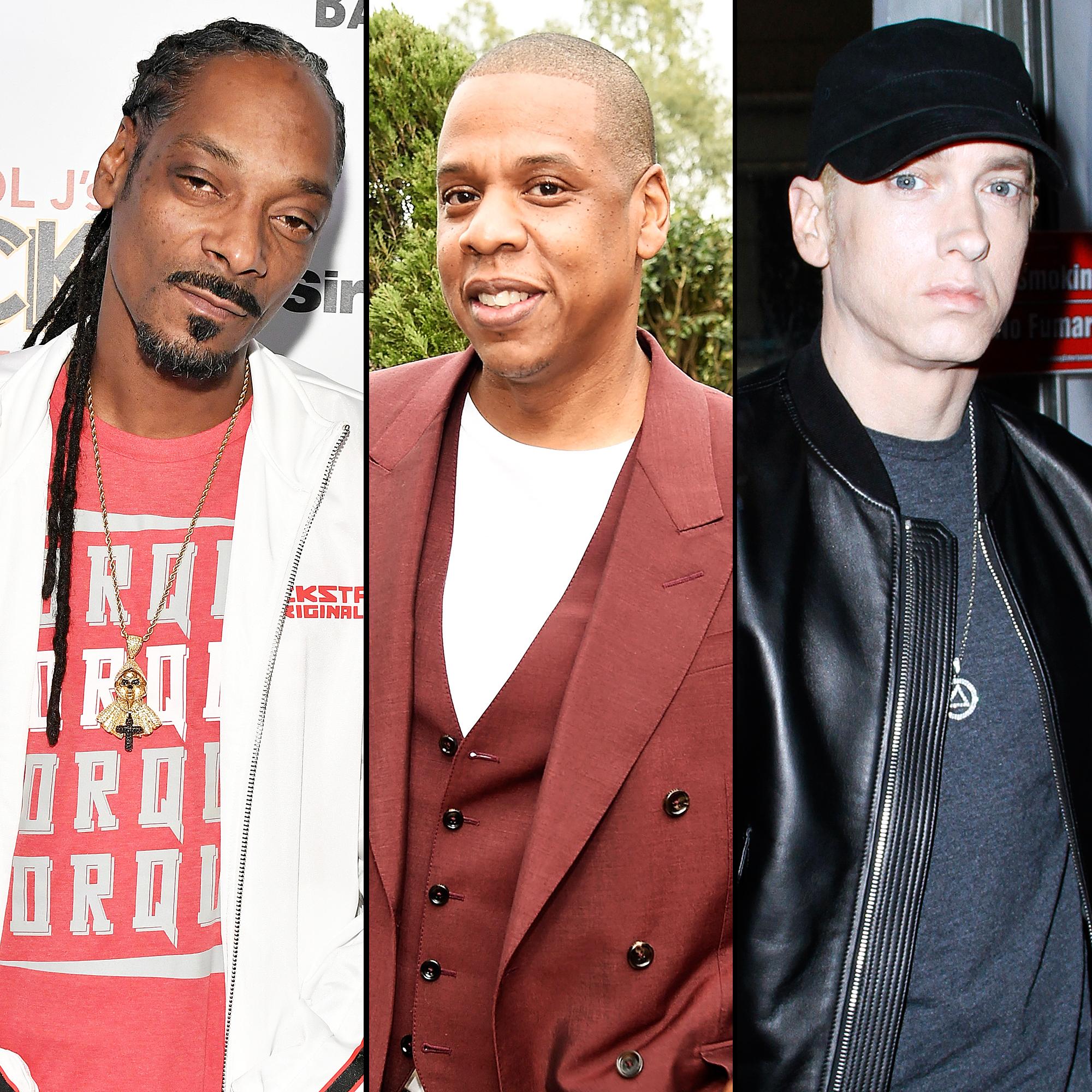 Snoop Dogg, Jay-Z and Eminem