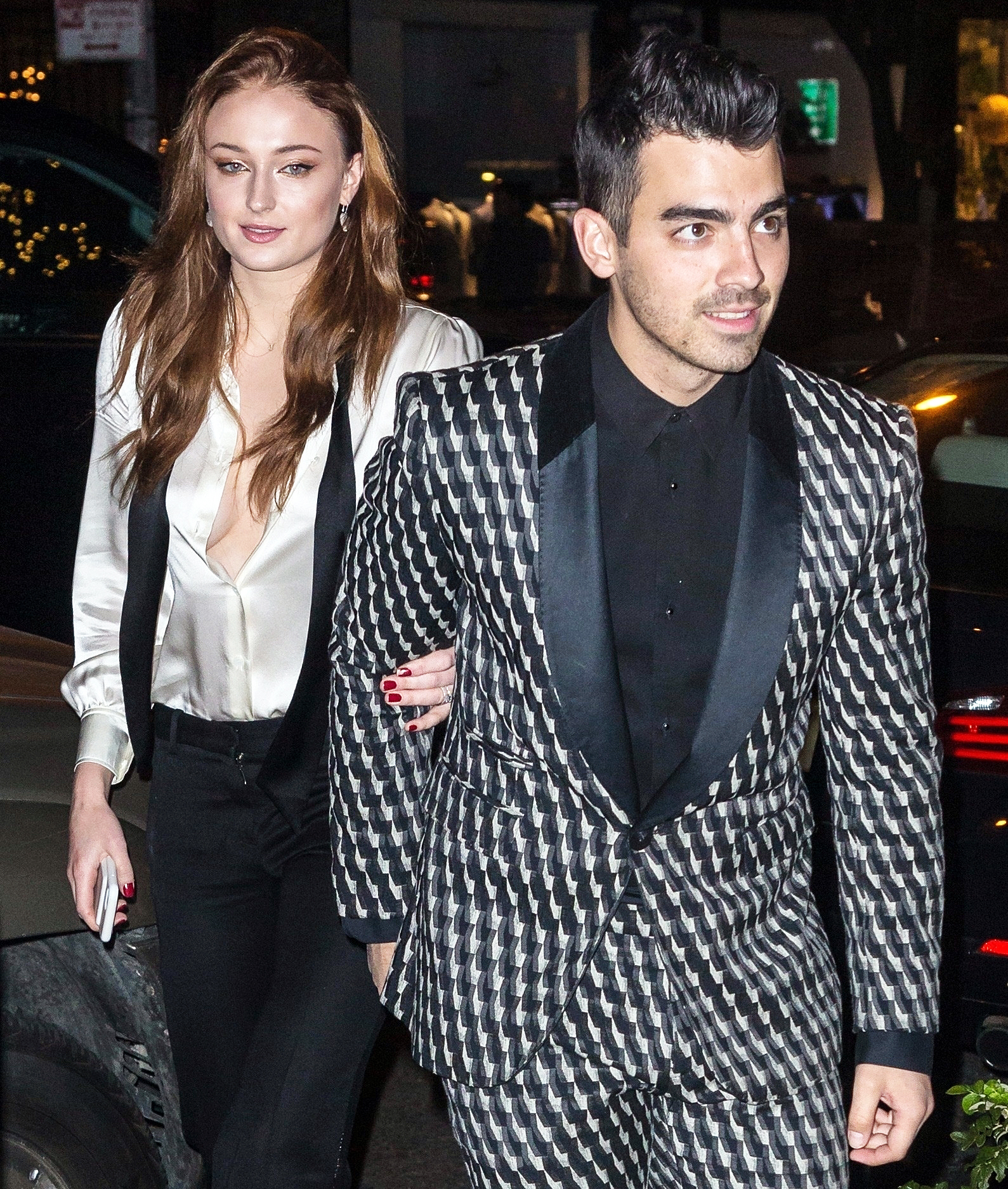 Sophie Turner Shocked She's Engaged to Joe Jonas