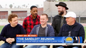 The cast of The Sandlot reunites on Today