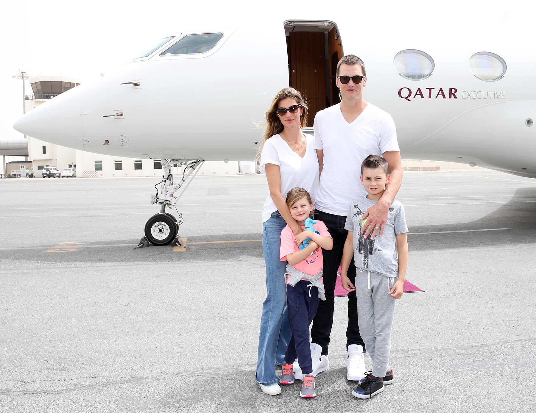 Tom Brady, Gisele Bundchen's Family Vacation to Qatar: Details