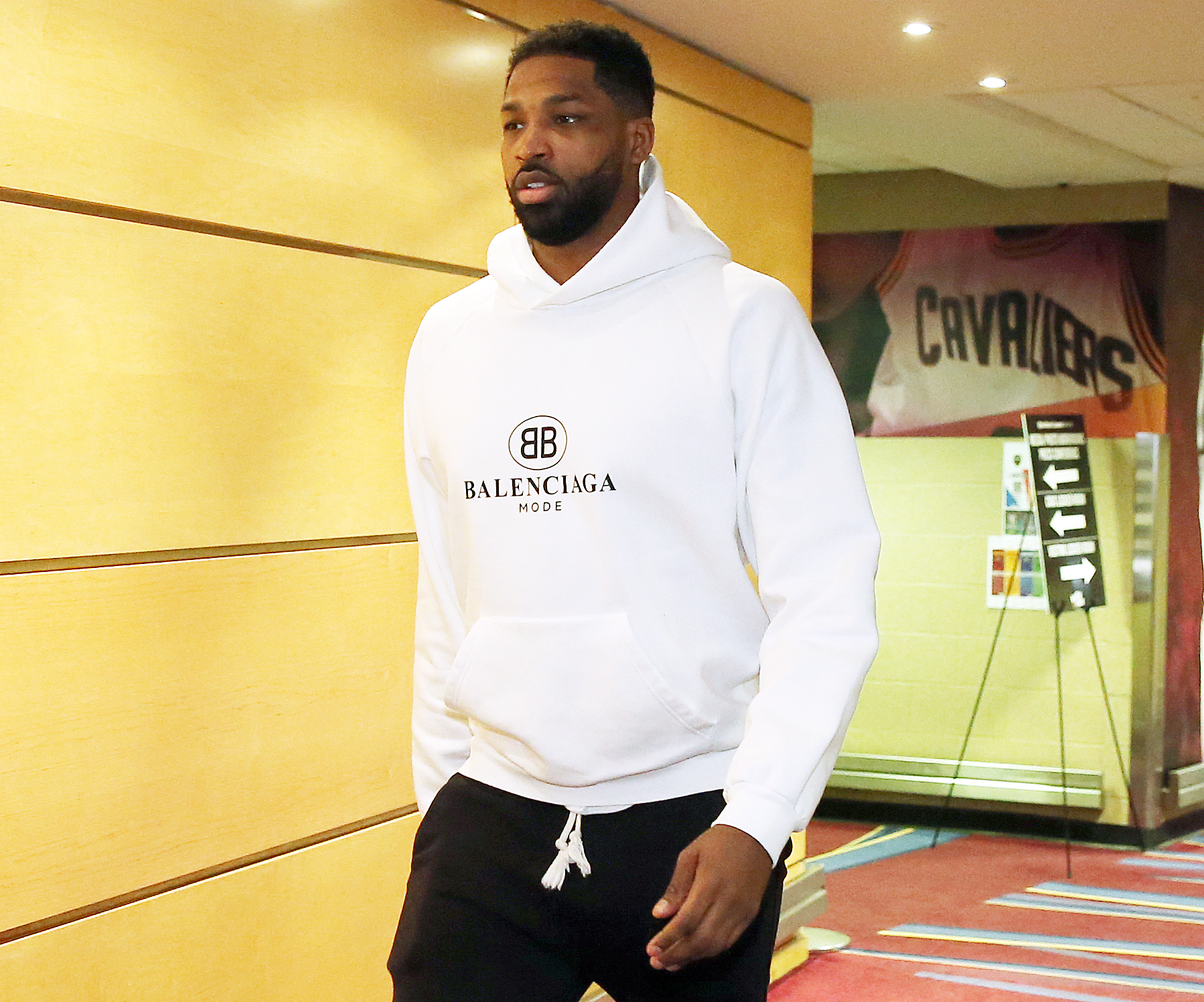 Tristan Thompson Remains on Bench During NBA Playoff Game Amid Scandal