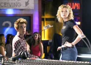 Tyler Hilton and Hilarie Burton in 'One Tree Hill'