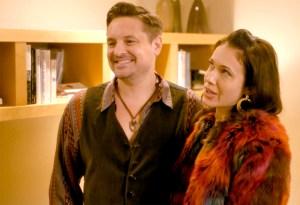 Will Friedle and Marla Sokoloff