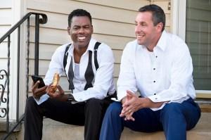 Chris Rock and Adam Sandler in 'The Week Of'