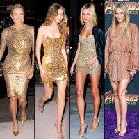 Yolanda Hadid, Gigi Hadid, Hailey Baldwin, Gwyneth Paltrow