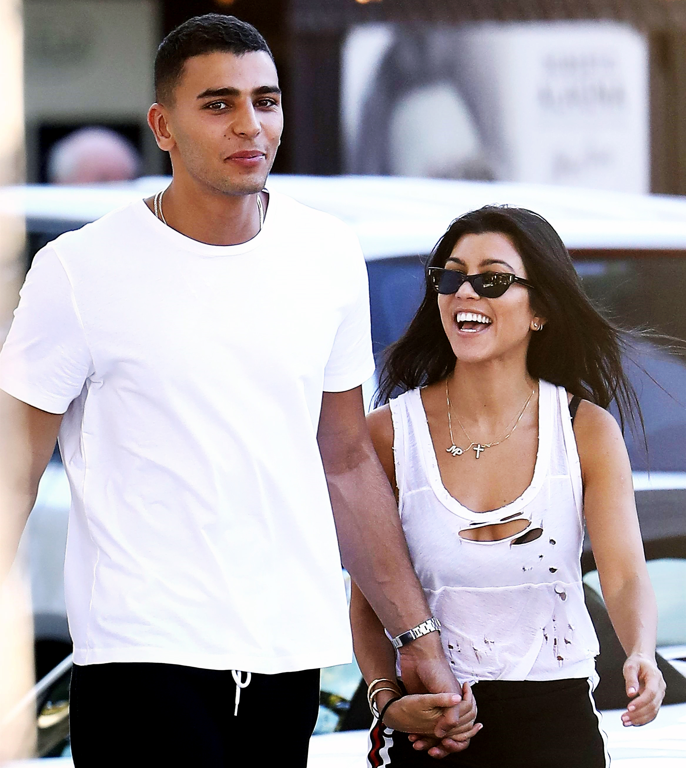 Younes Bendjima Kourtney Kardashian Cheating Claims