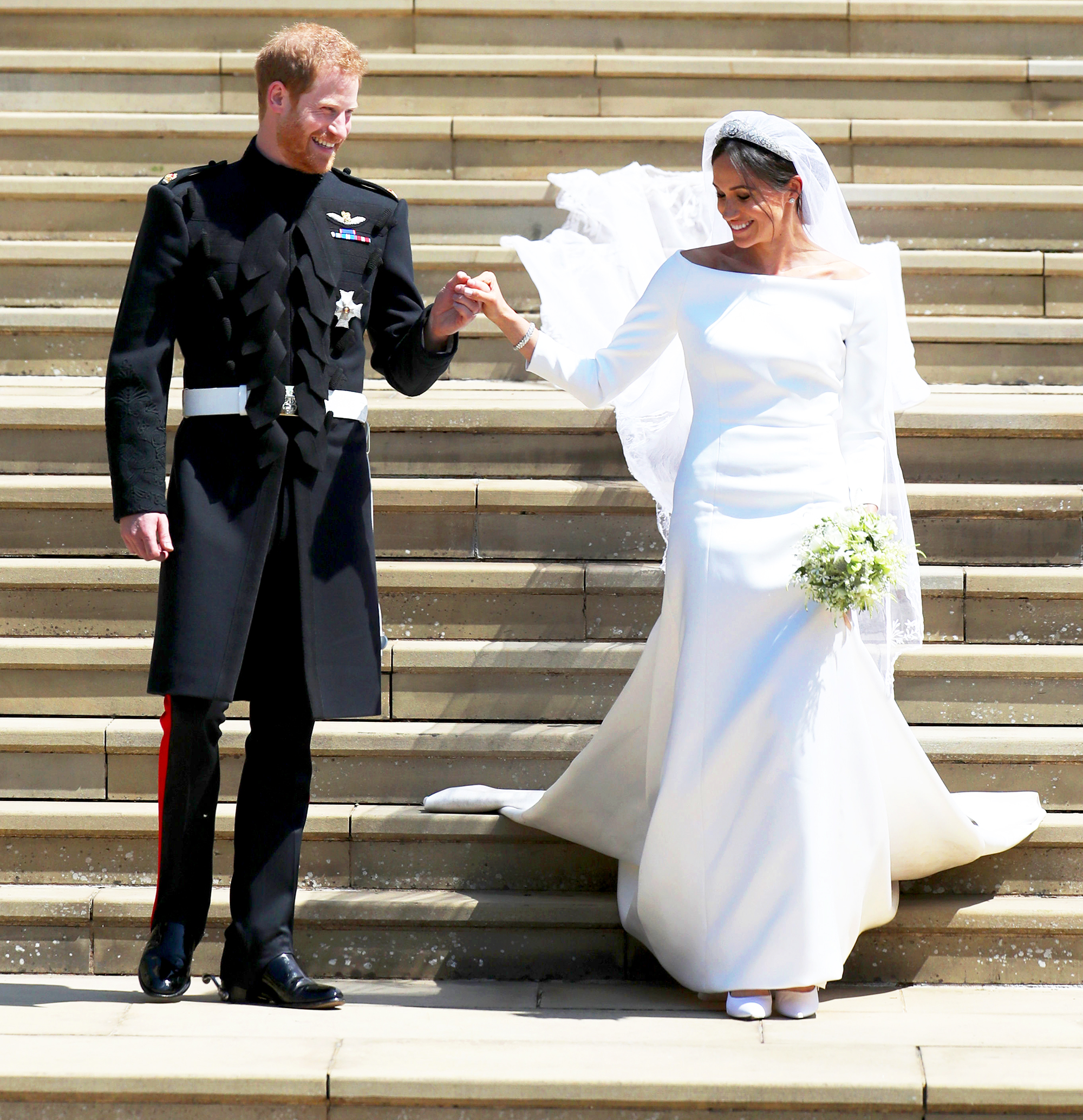 Meghan Markle's Givenchy Wedding Dress Recreated By
