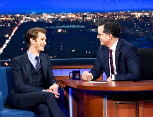 Andrew Garfield on 'The Late Show with Stephen Colbert'