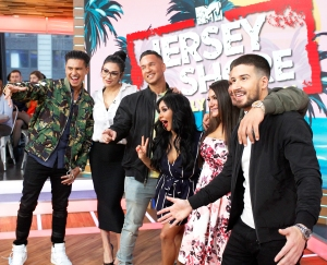 'Jersey Shore' cast on 'Good Morning America'