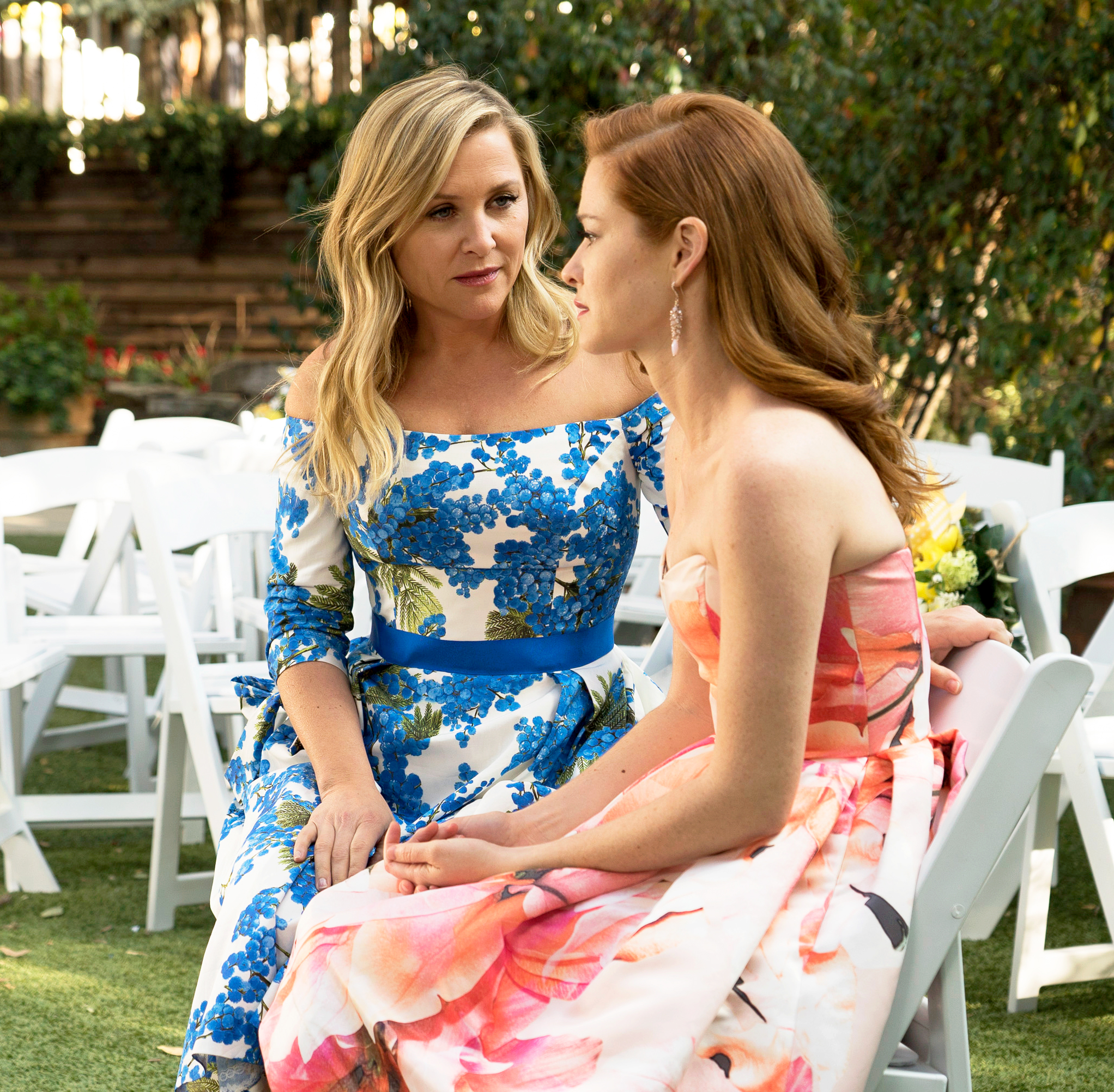 Jessica Capshaw and Sarah Drew on 'Grey's Anatomy'