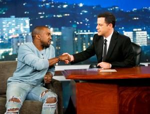 Kanye West on 'Jimmy Kimmel Live'