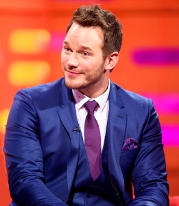 Chris Pratt during the 'Graham Norton Show'