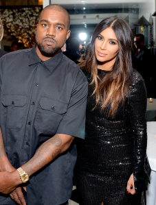 Kanye West and Kim Kardashian attend The Daily Front Row 2016 Fashion Los Angeles Awards at Mr Chow in Beverly Hills, California.