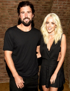 Brody Jenner and Kaitlynn Carter attend their Engagement Dinner at Roku on May 20, 2016 in West Hollywood, California.