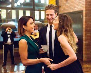 Bethenny Frankel, Adam Kenworthy and Carole Radziwill on 'The Real Housewives of New York City'