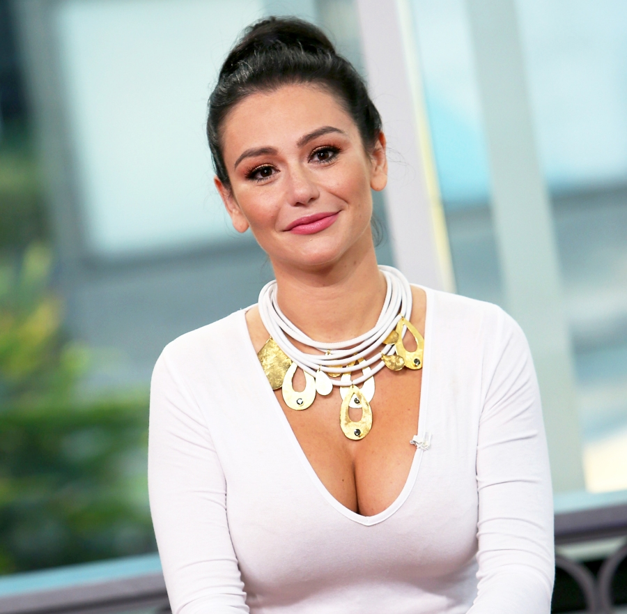 Jenni 'JWoww' Farley visits Hollywood Today Live at W Hollywood in California.